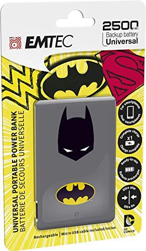 Emtec Power Bank 2500mAh Justice League Wonderwoman - Akku - Micro (AAA), ECCHA25U700SH01U