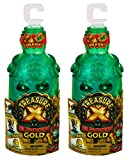 Treasure X Sunken Gold Bottle Smash - Action Figure & Treasure Inside. 10 Levels of Adventure. 2-Pack for Double The Fun, Multicolor (41600)