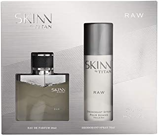Skinn Mens Eau De Parfum and Deodrant - Set of 2_Silver_Free Size