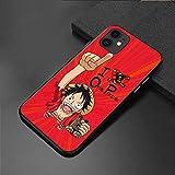 JapóN Anime One Piece Funda De Silicona para TeléFono para iPhone 12 11 Pro XS MAX XR X Se20 7 8plus Linda Cubierta De TPU Suave Luffy Sauron-T1_iPhoneXR