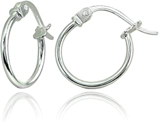 sterling silver earrings for teens