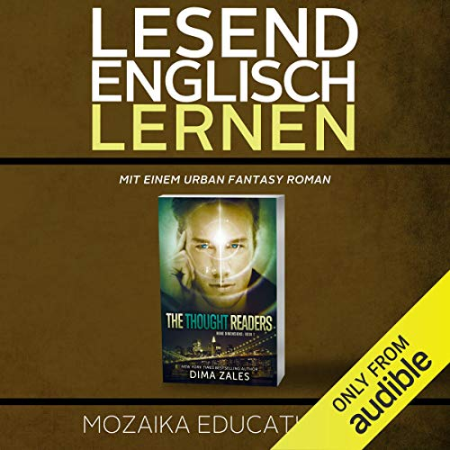 Englisch Lernen: Mit einem Urban Fantasy Roman [Learn English for German Speakers - Urban Fantasy Novel, Edition 1] cover art