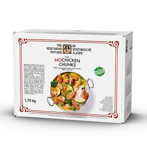 The Vegetarian Butcher Trozos veganos SIN POLLO 1,75kg   Sin Gluten   Vegan   Sin carne   100% Vegetal   Plant Based   Sin Gluten