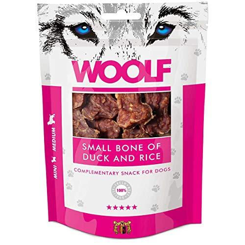 WOOLF Os petit canard et 100g de riz - Snacks pour chien