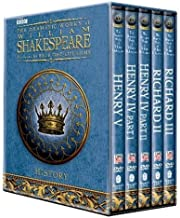 BBC Shakespeare Histories Gift box: (Henry IV Parts 1 and 2, Henry V, Richard II and Richard III)