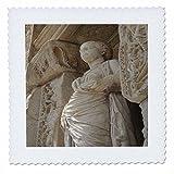 3dRose qs 51686 1 Statue-Sophia, Goddess, Wisdom, Celcus, Ephesus, Roman God, Ruins, Roman