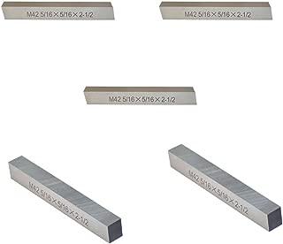 5 Pc - 5/16'' x 5/16'' x 2-1/2'' M42 Cobalt Steel Square Tool Bit Lathe Fly Cutter Mill Blank