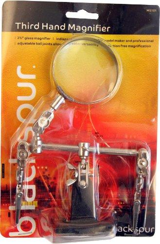 Blackspur BB-MS101 vergrootglas met derde hand