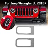 RT-TCZ Car Hood Latch Engine Cover Decoration Trim Stickers for 2018 Jeep...