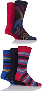 Mens 5 Pair SockShop Bamboo Socks