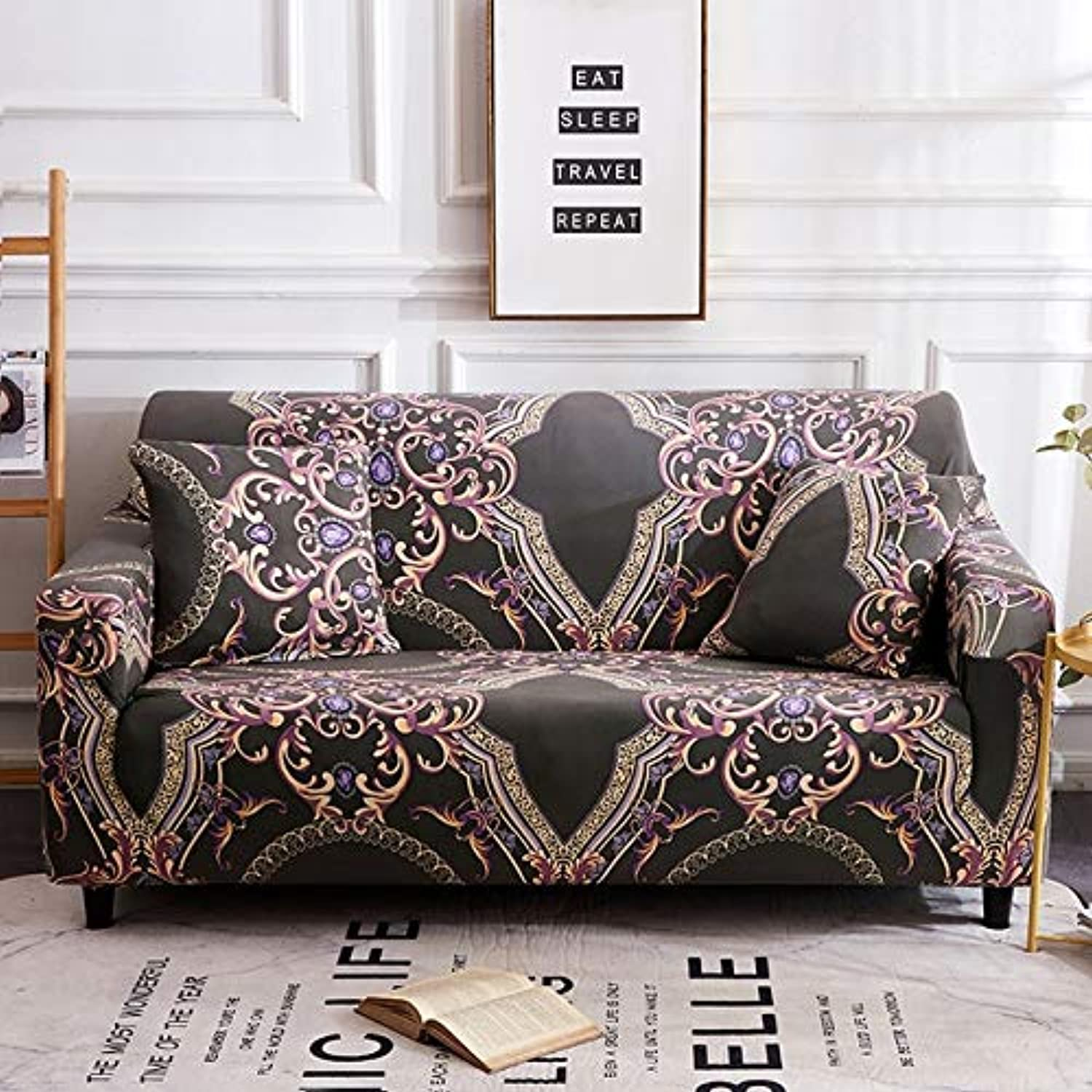 Fit For 1 2 3 4 Seater Sofa Cover Tight Wrap All Inclusive ...