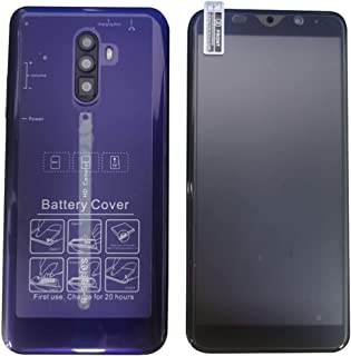 Smartphone Rino3 Pro 5,8 tums skärmtelefon Vattendroppe HD -skärm 8Mp+16Mp 8 Core 4000Mah mobiltelefon - lila EU