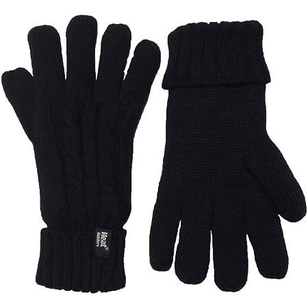 HEAT HOLDERS - Ladies Thermal Cable Knit 2.3 tog Heatweaver Gloves