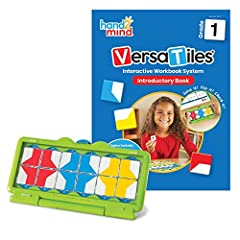 INCLUDES INTERACTIVE WORKBOOK: This introductory kit into the VersaTiles interactive workbook system comes with a 16-page book, 1 self-checking answer case, and 1 resealable plastic bag of numbered tiles. PREPARE FOR FIRST GRADE: This activity book i...