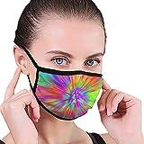 Tie Dye Mask Designer Bocca Maschera Maschera Beauty Maschera lavabile Lavabile e riutilizzabile con fascia elastica