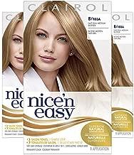 Clairol Nice'n Easy Original Permanent Hair Color, 8 Medium Blonde, 3 Count