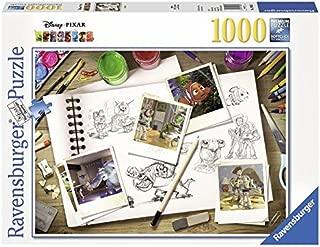 Ravensburger Disney Pixar Sketches Puzzle 1000pc,Adult Puzzles