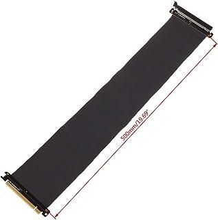 siwetg High Speed PC-grafikkort PCI Express 3.0 16x, flexibel anslutningskabel, riser-kort förlängning, portadapter för GP...