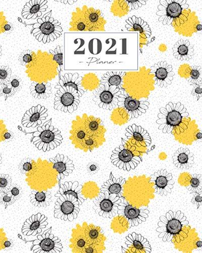 Planer 2021: Weekview - Wochenkalender 2021 - Januar 2021 bis Dezember 2021, 53 Wochen Aufgabenverwaltung - Appointments Organizer