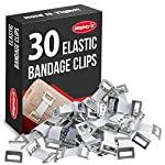 Premium Elastic Bandage Wrap - 4 Pack + 4 Extra Clips - Durable Compression Bandage (2x - 3 inch, 2x - 4 inch Rolls… 5 ✅ VALUE PACK - Your package includes 4 rolls of compression wrap, two 3-inch rolls, and two 4-inch rolls. The smaller bandage is perfect for covering smaller areas while the larger bandage is ideal for larger areas. ✅ DURABLE MATERIAL - Our elastic bandage wrap is made from premium polyester. It provides the best results by keeping your muscles tight. Each compression bandage extends up to 15ft when fully stretched. This is long enough to wrap most wrists, ankles or knees. ✅ INDIVIDUALLY PACKED - Our elastic bandages come encased in a protective wrapper until you're ready to use them. This keeps your bandage wrap sanitary and free of debris to help prevent any kind of adverse reaction should an injury occur.