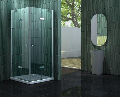 Duschkabine NEOTEC 80 x 80 x 195 cm ohne Duschtasse