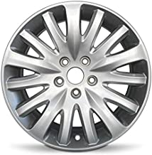 Road Ready Car Wheel For 2010-2012 Ford Fusion 2010-2011 Mercury Milan 17 Inch 5 Lug Silver Aluminum Rim Fits R17 Tire - Exact OEM Replacement - Full-Size Spare