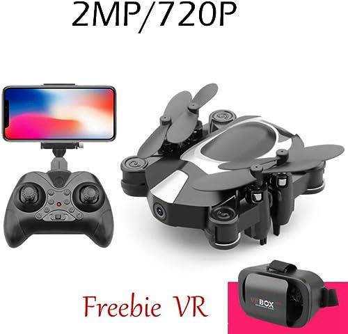 ERKEJI Drohne Schwerkraftmessung Fernbedienung Faltbare Mini vierachsige Flugzeuge Spielzeug Flugzeuge 720P   1080P Luftbildkamera Echtzeitübertragung WiFi FPV VR (senden Brille)