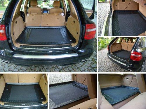 Kofferraumwanne Gepäckraumwanne mit Antirutsch Plus-Line (passend für das angegebene Fahrzeug ,siehe Artikelbeschreibung)