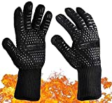 Best Barbecue Gloves - Heat Proof Gloves BBQ Gloves Heat Resistant 1 Review