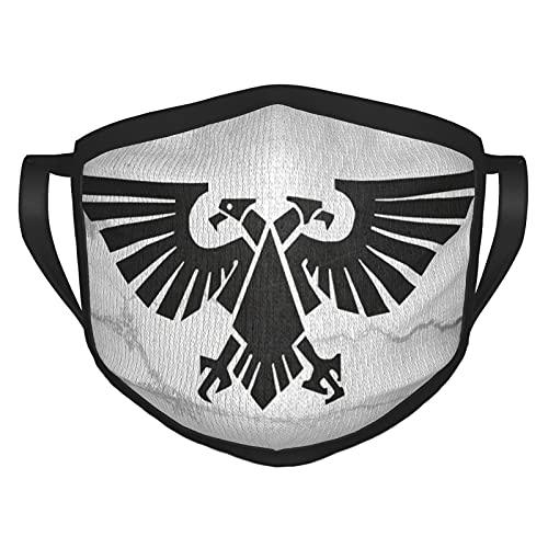 ZVEZVI Warhammer 4k Aquila Máscara Unisex de Orejeras para Acampar y Pescar al Aire Libre,Protector Solar y a Prueba de Polvo