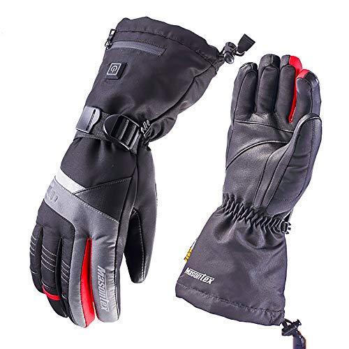 gengyouyuan Winter-Motorradhandschuhe winddicht und wasserdicht selbstwärmende Handschuhe L MH1 Elektrische Handschuhe