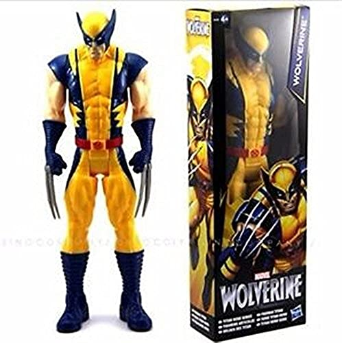 Wolverine X-Men Action FIGURE Toy The AVENGERS Marvel Titan Hero Series 12 Gift by Unknown