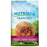 Dogswell NUTRISCA Grain Free Dry Dog Food, Lamb & Chickpea Recipe, 4 lbs.