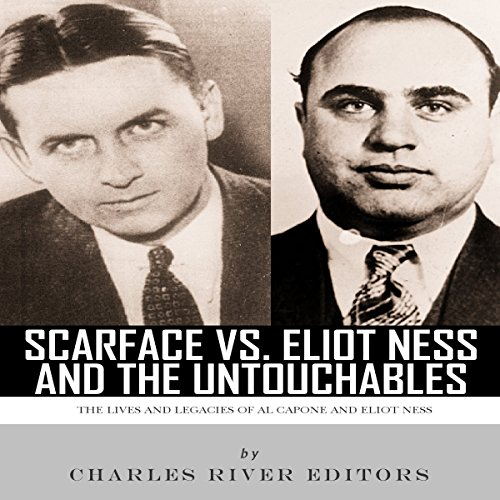 Scarface vs. Eliot Ness and the Untouchables audiobook cover art