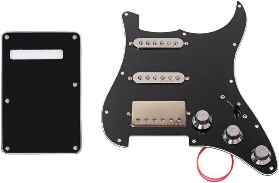 D dolity SSH prew ired Humbucker Pickups golpeador con protectora cover Backplate Para Guitarra eléctrica