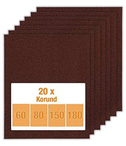 Schleifpapier 10 m Rolle Marke ECKRA P 40 bis P 240 Handschleifpapier