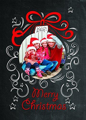 Weihnachtskarten zum Rubbeln, 25 Rubbelkarten