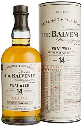 Balvenie The 14 Years Old PEAT WEEK Vintage 2003 Whisky (1 x 0.7 l)