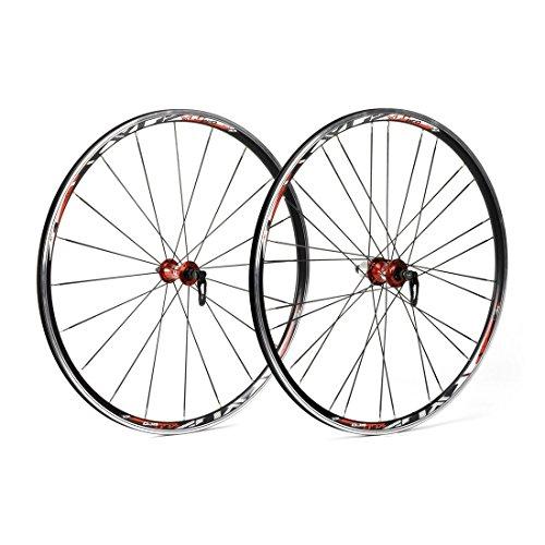 XLC Unisex– Erwachsene Racinglaufradsatz Pro 28 Zoll WS-R02, Schwarz, Einheitsgröße