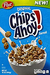 POST CHIPS AHOY CEREALES, 340GR