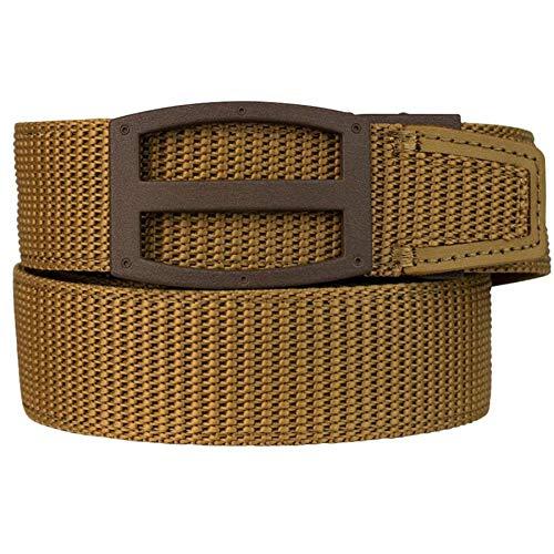 Nexbelt Ratchet Technology EDC Titan Coyote PreciseFit Tan Nylon Gun Belt for Concealed Carry Unisex