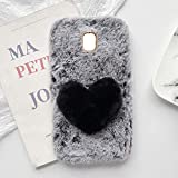 yhy Plush Heart Shaped Style Elegant Mobile Phone Case For