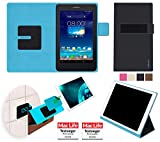 reboon Hülle für Asus FonePad 7 Dual FE175CG Tasche Cover Case Bumper | in Schwarz | Testsieger