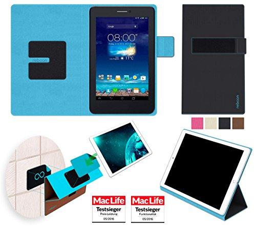reboon Hülle für Asus FonePad 7 Dual FE175CG Tasche Cover Hülle Bumper | in Schwarz | Testsieger