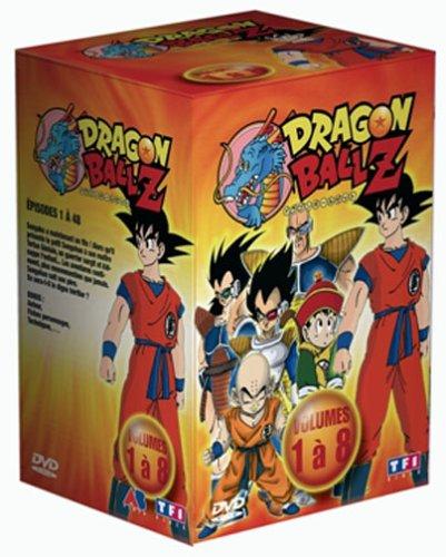 Coffret Dragon Ball Z 8 DVD : Vol. 1 à 8