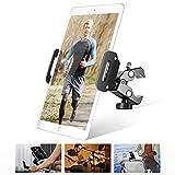 Luxtude Fahrrad iPad Halterung, Metall Tablet Halterung Lenker für Spinning Innen Laufband Hometrainer Crosstrainer, Tablet Halter mit 360° Drehbar für iPad Pro Air Mini, und Tablet mit 4.7-13 Zoll