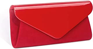 Best red patent leather purse Reviews