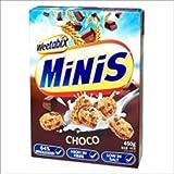Weetabix- Minis Choco - Cereales Integrales de Trigo entero con pepitas de chocolate (10 unidades de 450 gramos)