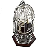 Harry Potter -Miniature Hedwig and Cage With Display Stand by Noble Collection