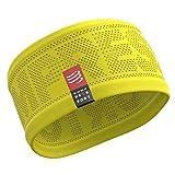 COMPRESSPORT Unisex-Erwachsene Headband V2 On/Off Lauf Stirnband, Gelb, One Size